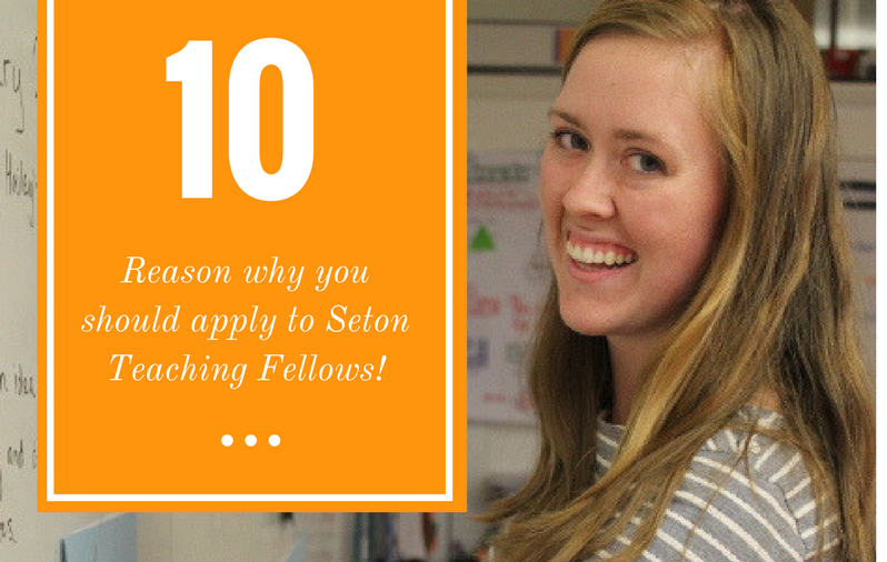 10 Reasons Why You Should Apply!